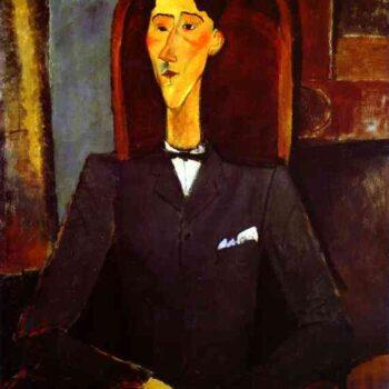 Jean Cocteau portrait