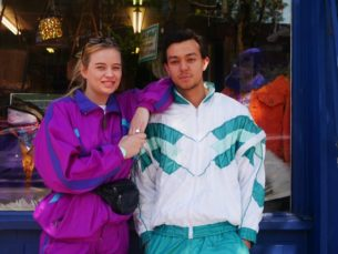 1980s shell suit tops and jackets from Blue17 vintage