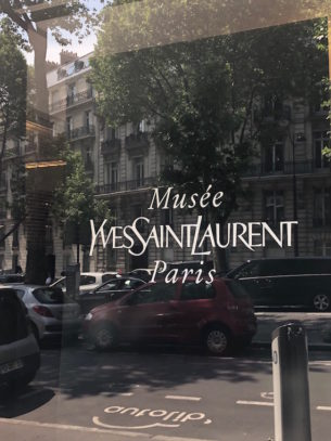 The Yves Saint Laurent Museum. Photo Alexa Lazar.