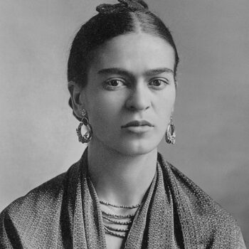 Frida Kahlo, by Guillermo Kahlo, 1932