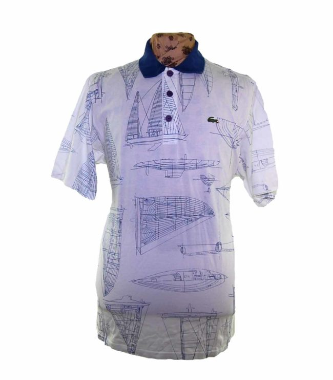 Chemise Lacoste Boat Graphic Polo Shirt
