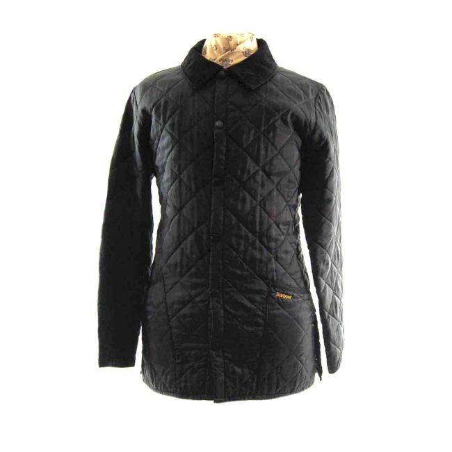 Barbour Black Quilted Jacket