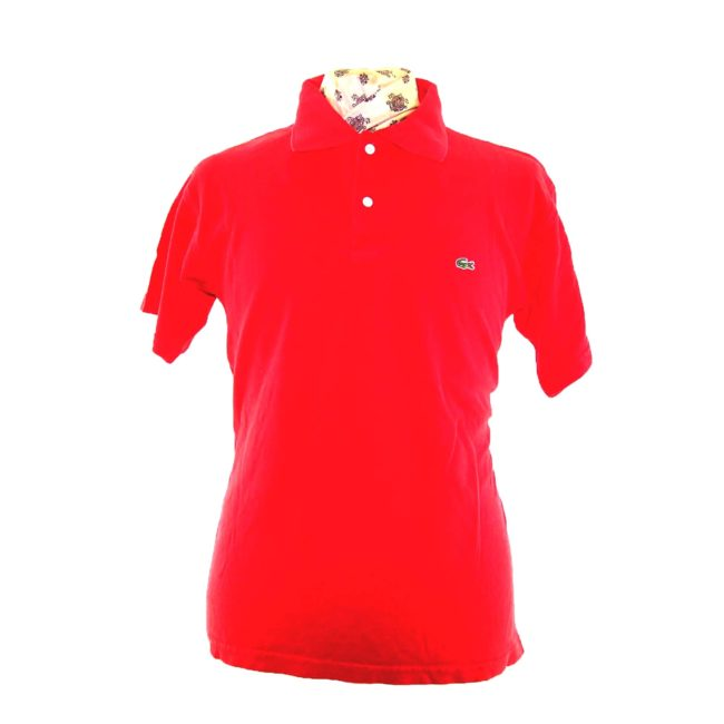 Lacoste Primary Red Polo Shirt