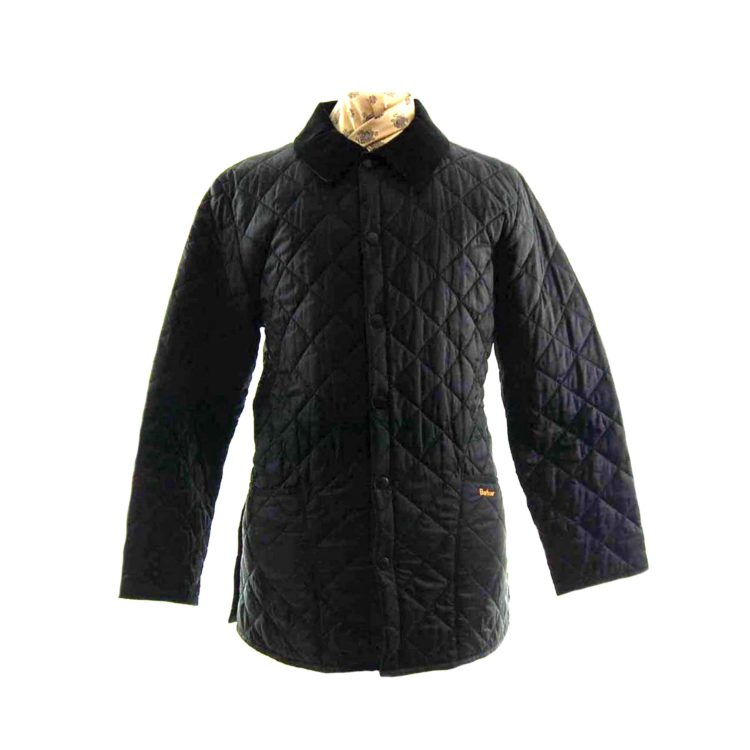 Barbour Quilted Black Jacket