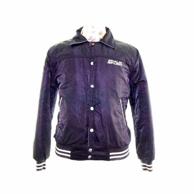 Teen Black Sport Bomber Jacket