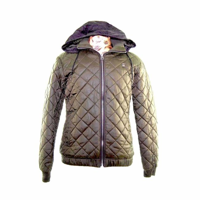 G-Star Raw Green Quilted Jacket
