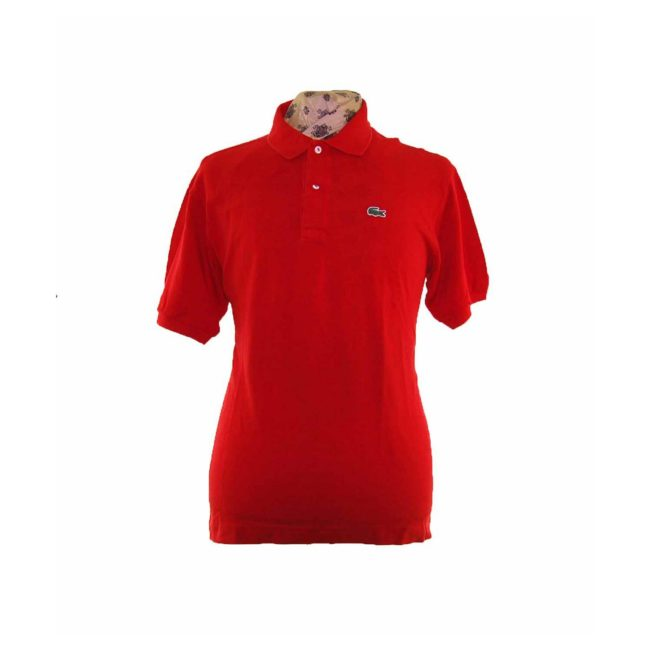 Lacoste Bright Red Polo Shirt