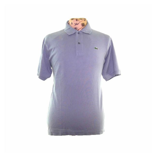 Lacoste Grey Blue Polo Shirt