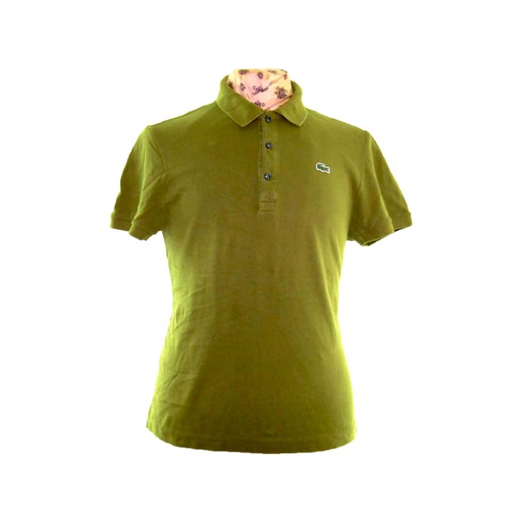 Lacoste Khaki Green Polo Shirt