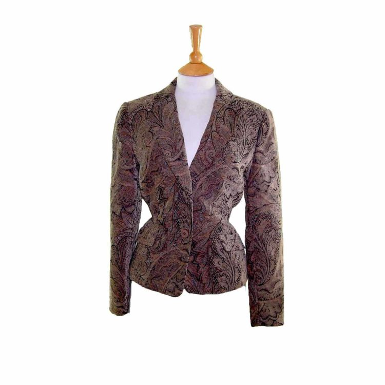 Green Paisley Tapestry Jacket