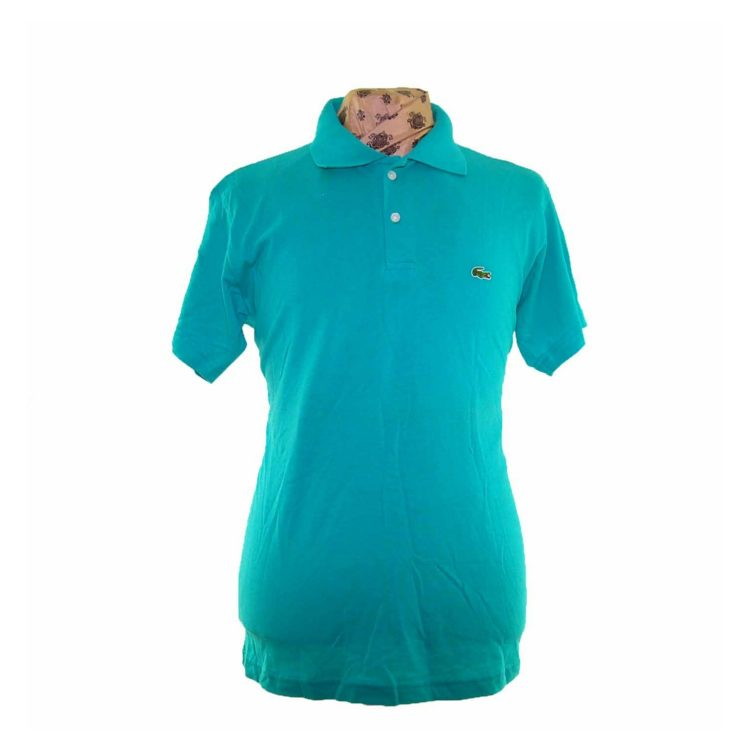 Lacoste Turquoise Polo Shirt