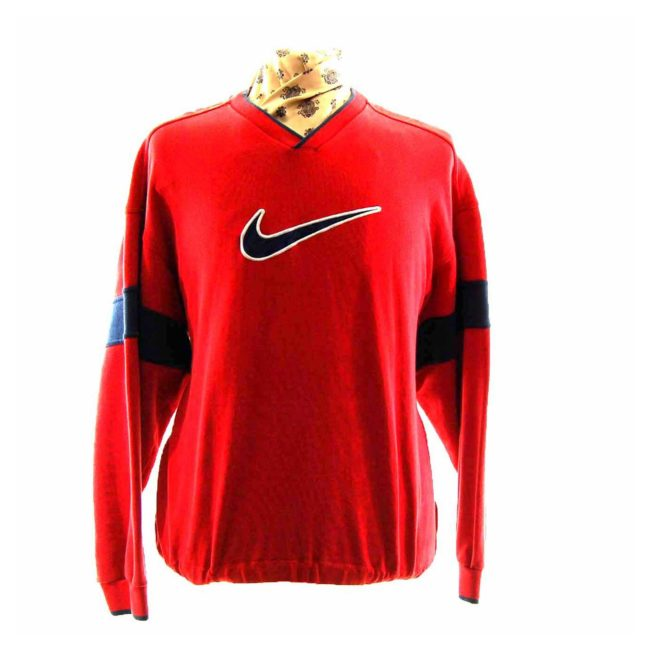 Red Nike Sweatshirt