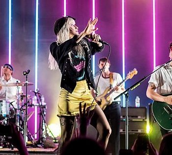 what outfits you could wear to an 80s party.570px-Paramore at Royal Albert Hall.19th June 2017