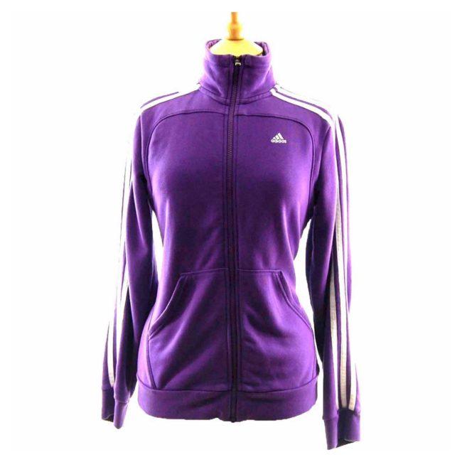 90s Purple Adidas Track Jacket