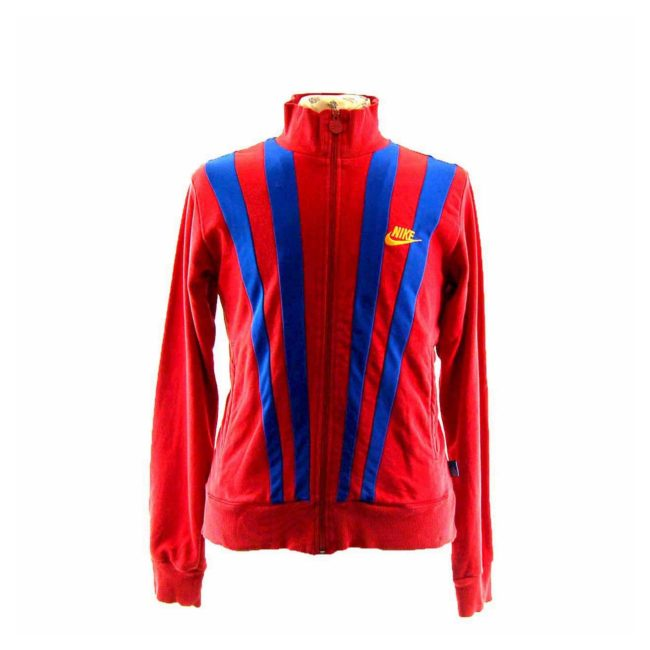 90s Red Nike Track Top