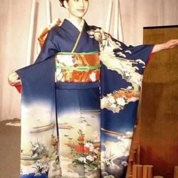 Hiroki Koshino. Kimono