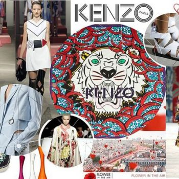 Kenzo collage