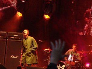 Oasis performing live in sunderland. Retro Clothing UK