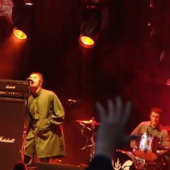 Oasis performing live in sunderland. Retro Clothing UK