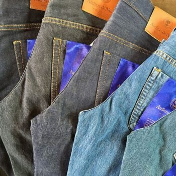 Blue blooded Denim Hunters and Jeans Culture.Selvedge denim jeans (Jeans en toile de Nîmes selvedge)