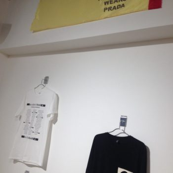 Comme Des Marxists at the Fashion Space Gallery. Image Genevieve Jones.