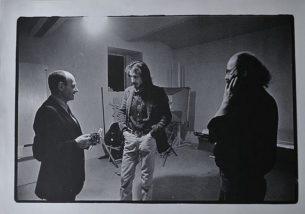 Irving Penn, Polacek and simanek in prague 1986