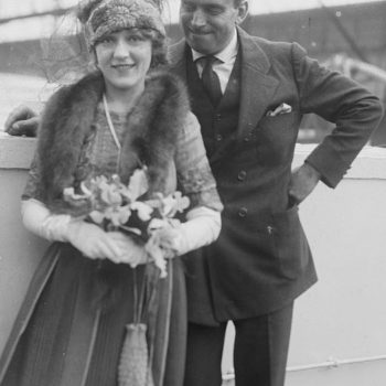 vintage and retro clothing, Douglas Fairbanks and Mary Pickford on honeymoon in 1920