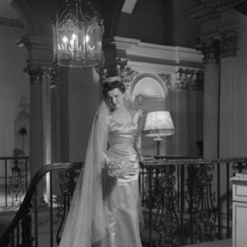 Dress designed by Bianca Mosca,1945