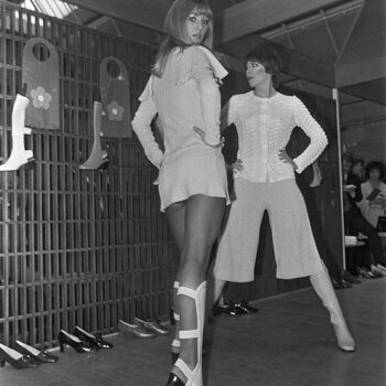 Swinging London- Mary Quant summer collection show, 1969
