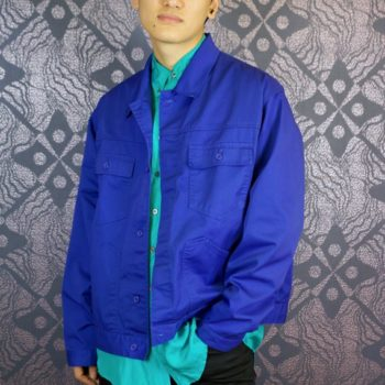Blue17 vintage French work jacket