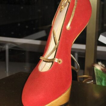 Heel-less shoe Shoe by Andre Perugia