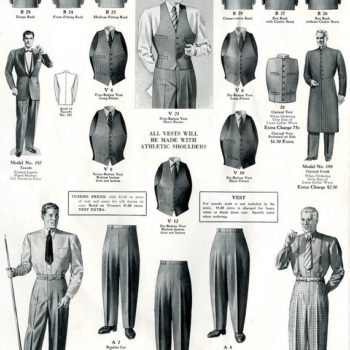 vintage workwear for sale - various items of officewear and workwear