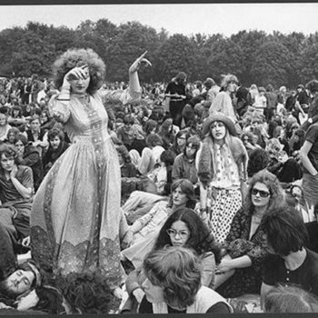 Hippy 60s festival fashion