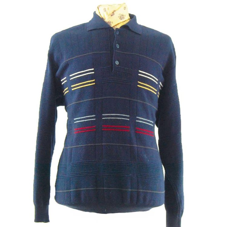80s Navy Jumper