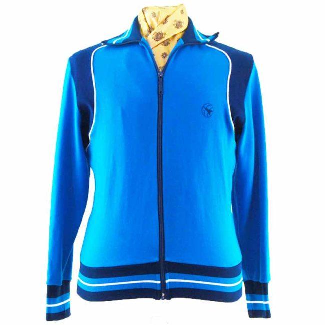 80s Men's Vintage Track Jacket