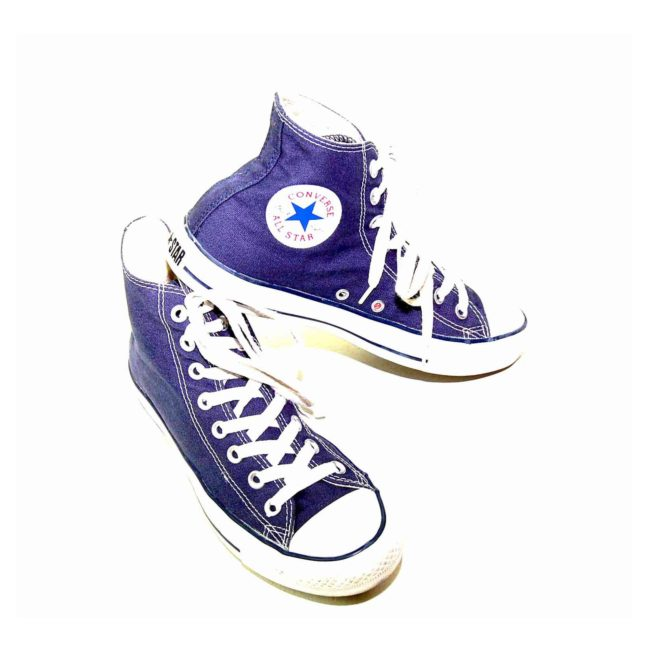 90s Blue Converse All Star High Tops