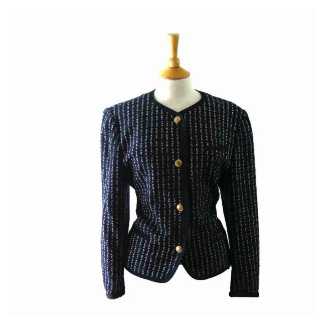 90s Blue White Jacket
