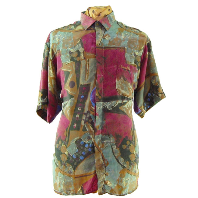 90s Christian Dior Abstract Shirt