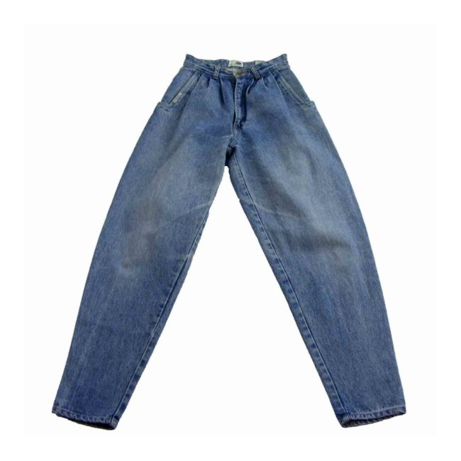 90s Pleated High Waist jeans