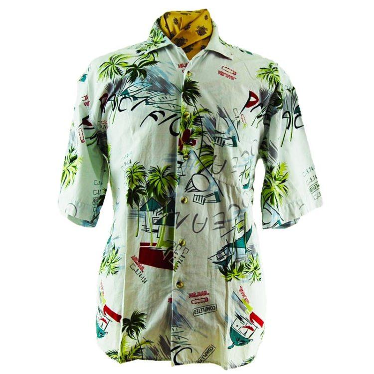90s Versace Classics Hawaiian Shirt