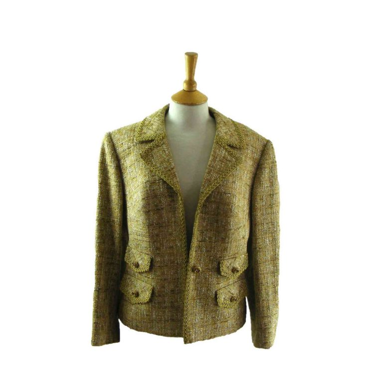 Ladies Short Wool Jacket