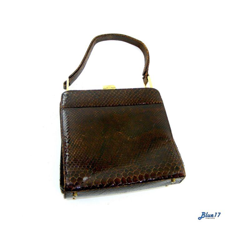 Snakeskin 60s Handbag