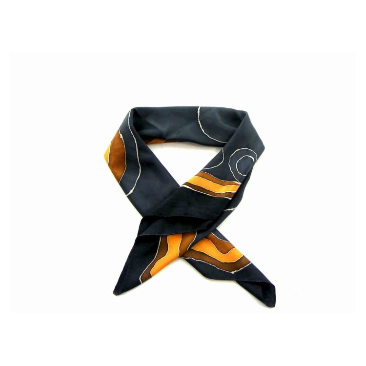 Multicoloured Abstract Head Scarf