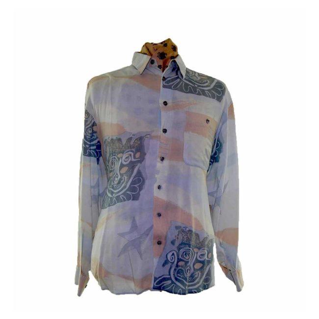 80s Joker Printed Long Sleeve Shirt