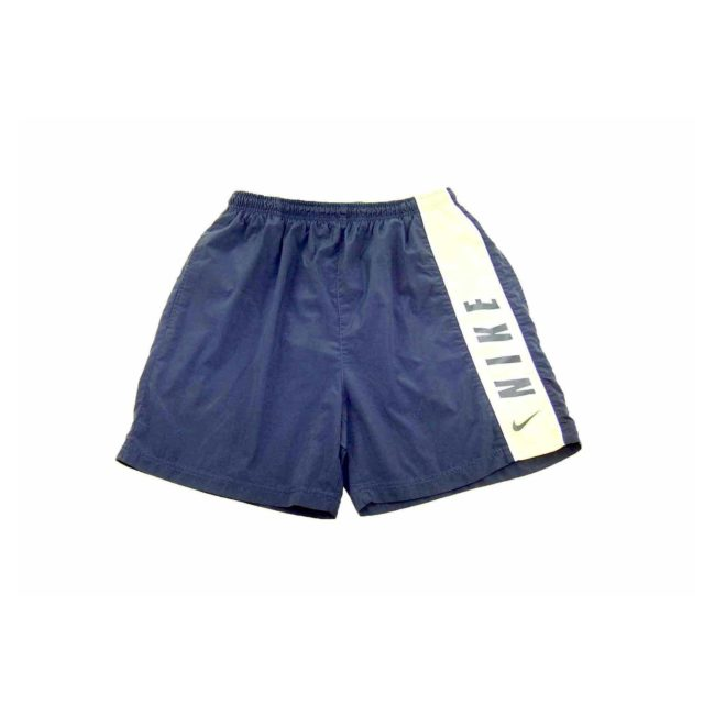 Nike Navy Contrast Sport Shorts