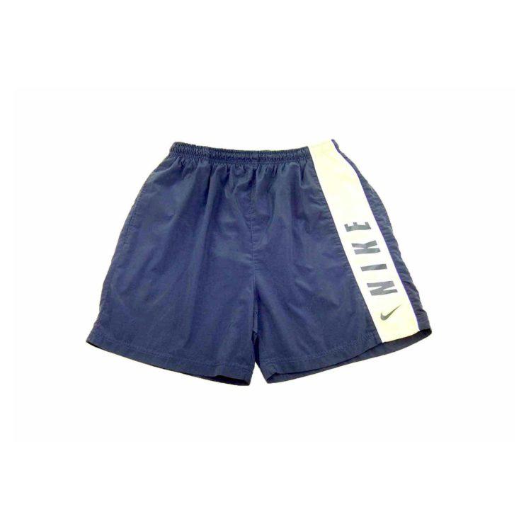 Nike Navy Contrast Sport Shorts