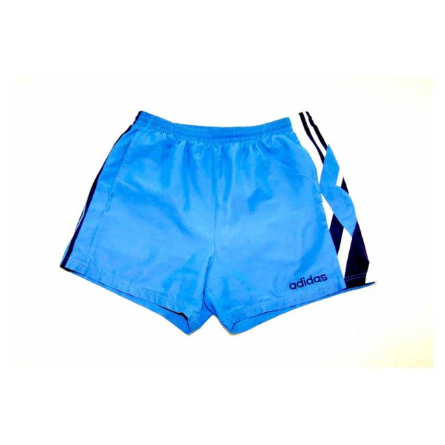 Adidas Blue Geometric Sport Shorts