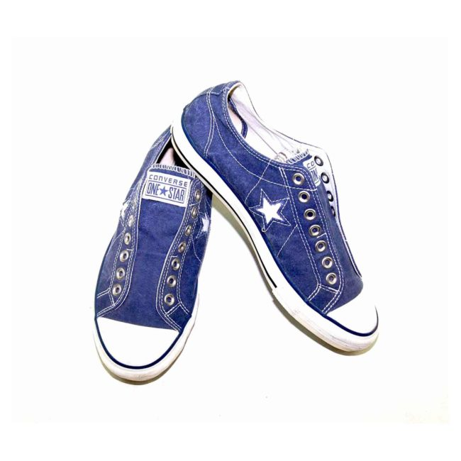 90s Blue One Star Converse Sneakers