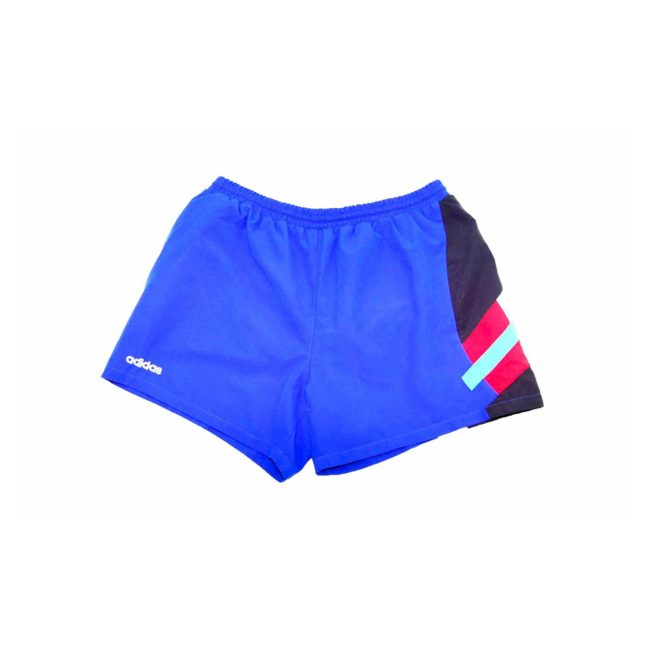Adidas Bright Blue Patterned Sport Shorts