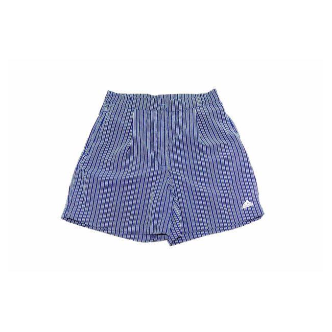 Adidas Navy Striped Casual Shorts